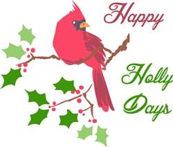 Happy Holly Days Print Art