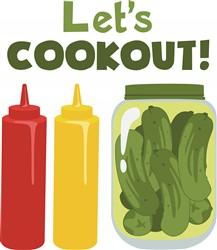 Lets Cookout! Print Art