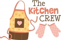 Kitchen Crew Print Art