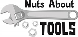 Nuts About Tools Print Art