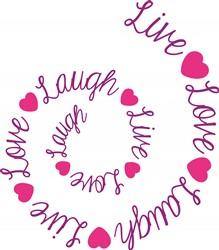 Live Love Laugh Print Art
