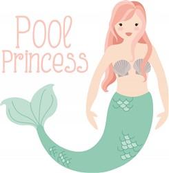 Pool Princess Print Art