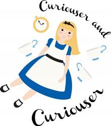 Curiouser And Curiouser Print Art