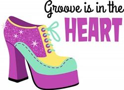 Groove In The Heart Print Art