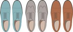 Mens Shoes Print Art