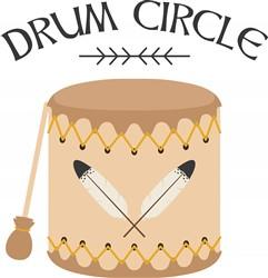 Drum Circle Print Art