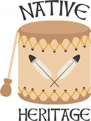 Native Heritage Print Art