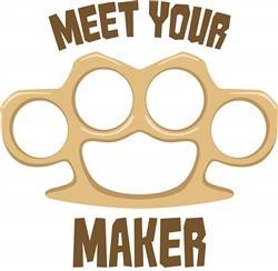 Meet Your Maker Print Art