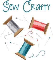 Sew Crafty Print Art