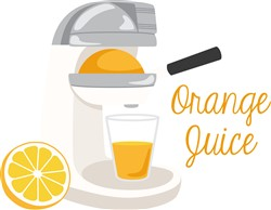 Orange Juice Print Art