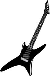 Rock Guitar Print Art