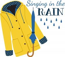 Singing In Rain Print Art