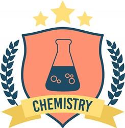 Chemistry Crest Print Art