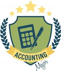 Accounting Major Print Art