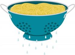 Spaghetti Strainer Print Art