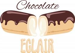 Chocolate Eclair Print Art