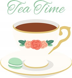 Tea Time Print Art