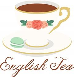 English Tea Print Art