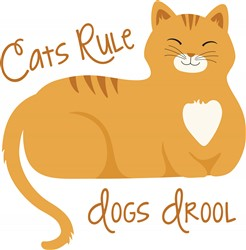 Cats Rule Print Art