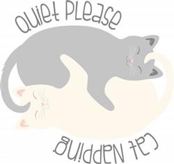 Cat Napping Print Art