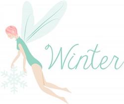 Winter Fairies Print Art