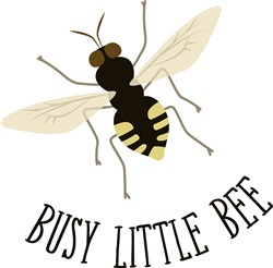 Busy Bee Print Art
