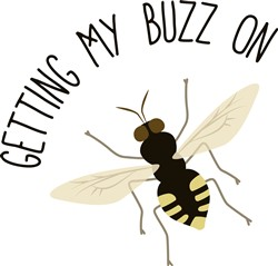 Getting Buzz Print Art
