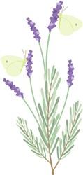 Lavender Butterfly Print Art