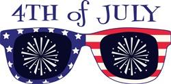 4th Of July Sunglasses Print Art
