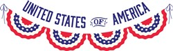 United States Banner Print Art