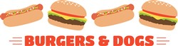 Burgers & Dogs Print Art