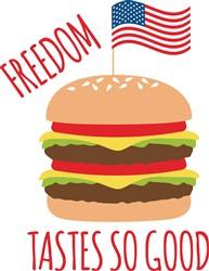 Freedom Burger Print Art