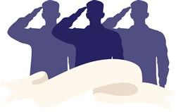 Soldiers Salute Print Art