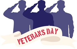 Veterans Day Salute Print Art