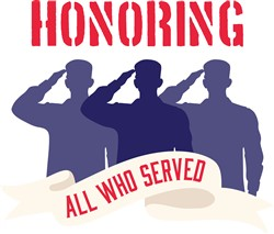 Honoring All Who Served Print Art