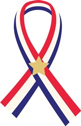 Memorial Ribbon Print Art