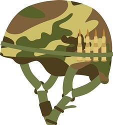 Army Helmet Print Art