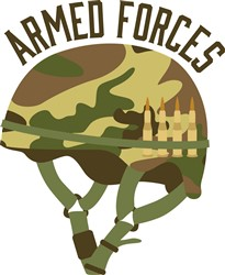 Armed Forces Helmet Print Art