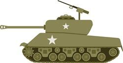 Battle Tank Print Art