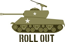 Roll Out Tank Print Art