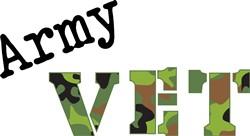 Army Vet Print Art
