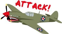 Airplane Attack Print Art