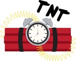TNT Explosive Print Art