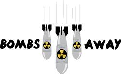 Bombs Away Print Art