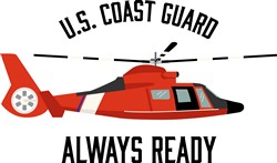 Always Ready Helicopter Print Art