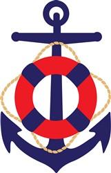Nautical Anchor Print Art