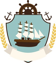 Ship Crest Print Art
