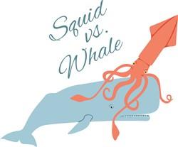 Squid Vs Whale Print Art