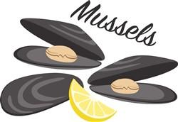 Mussels Print Art