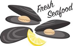 Fresh Seafood Print Art